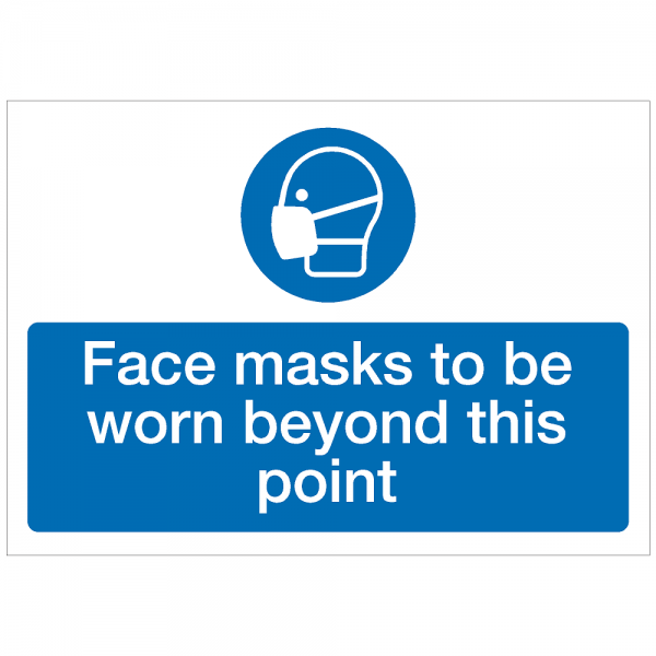 COV22 - Face masks to be worn