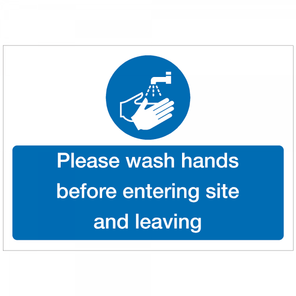 COV25 - Please wash hands before entering site