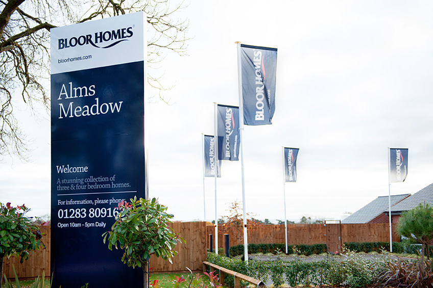 Bloor homes alms meadow signs direct for Meadow house